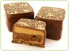 Mocha Crunch Bite - Fudge Brownie, Coffee Ganache, Dark Chocolate, Toffee Bits