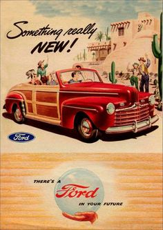 11350 - FORD 1946 - Sportman - Something - really new ! - 29x41-