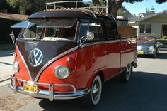 VW Doka - 1960 Double Cab