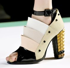 Fendi Spring 2013 Shoes