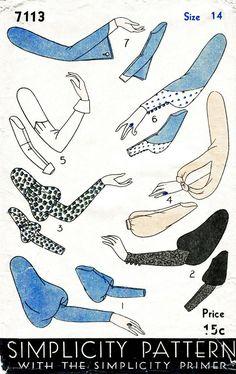 Vintage Sewing Pattern 1930s 30s Art Deco by LadyMarloweStudios