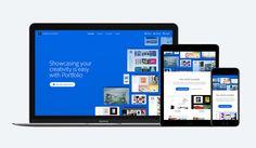 Adobe Portfolio Website on Behance