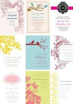 Primadonnabride - design and download your own beautiful invitations for free