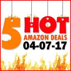 ►► 5 HOT AMAZON DEALS – 4/7/17 ►► #Amazon, #Bargain, #Clearance, #Closeout, #DailyDeal, #Dealoftheday, #Deals, #Discounts, #Frugal, #FrugalFind, #HotBuys, #LowestPrice, #Sale ►►