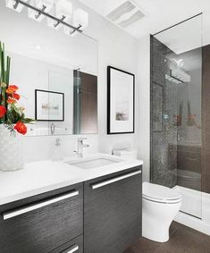 Wicked 24 Modern Small Bathroom Design Ideas On A Budget https://24spaces.com/bathroom/24-modern-small-bathroom-design-ideas-on-a-budget/