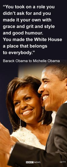 Barack Obama paid tribute to his wife Michelle Obama in his final speech as US President. He became emotional as gets emotional as he turned to the first lady and his wife of 25 years. He said she was not only his wife, and the mother of their two children, but also his best friend.