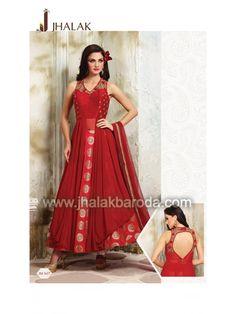 Designer Anarkali Dress- JM-1637