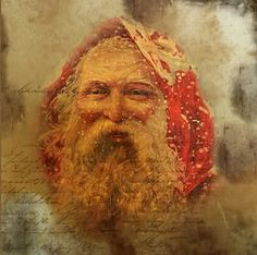 ~Vintage Santa Printable