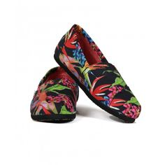 Toms Classic, Womens Toms, Clogs, Paradise, Birds, Canvas, Shopping, Fashion, Clog Sandals