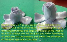 59 Super Ideas For Cupcakes Fondant Tutorial Buttercream Flowers Buttercream Flowers, Fondant Flowers, Cake Decorating Techniques, Cake Decorating Tutorials, Fondant Rose Tutorial, Cake Tutorial, Piggy Cake, Sugar Paste Flowers, Cake Decorating Frosting