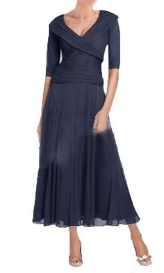 Fanmu V Neck Ankle-length Chiffon Mother of Bride Dresses >>> Startling review available here  : mother of the bride dresses