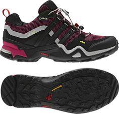 adidas Outdoor Terrex Fast X GTX Hiking Shoe - Women's Pride Pink/Black/Vivid Red 5.5 | Kencleng Store