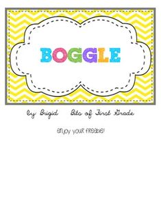 Free Boggle