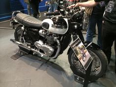 New Triumphs Hit the Shows | Carpy's Cafe Racers