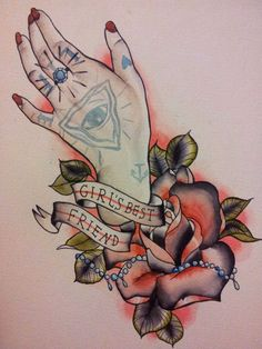 tattoo of a hand traditional - Google Search