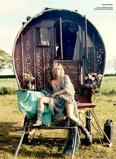 Gypsy life.