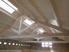 THERMOCHIP® Fenólico con acabado en abedul para las cubiertas del Hospital-Asilo de Granollers | #THERMOCHIP #panelsandwich #madera #abedul #techos #cubiertas #decoracion #interiorismo #arquitectura
