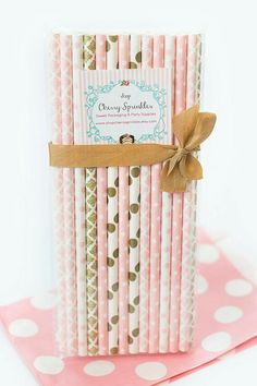 Valentines Day Decor *STRAWS -Party Supplies -Pinks and Golds PINK Paper Straws Baby Girl Showers, Weddings or Bridal Showers Gold Straws - Party Supplies Pink Gold Party, Pink And Gold Wedding, Blush And Gold, Blush Pink, Gold Gold, Paper Straws, Gold Paper, Pink Paper, Tutus