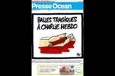 Attentat contre Charlie Hebdo - L'hommage unanime de la presse nationale