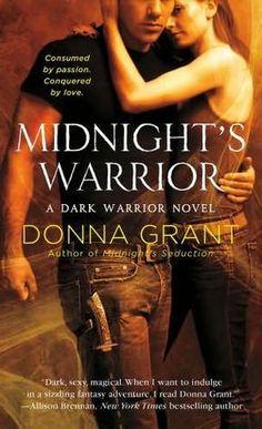 Midnight's Warrior (Dark Warriors #4)  by Donna Grant