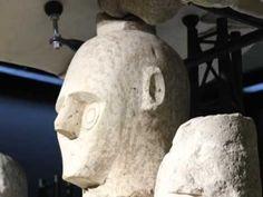 Sardegna I giganti di Mont'e Prama, Museo Archeologico di Cagliari, Sardinia, Nuragic Civilization. Archaeology