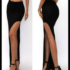 🏅🌹HOST PICK LONG MAXI SKIRT WITH OPEN SPLIT🌹 🌹🏅HOST PICK BEAUTIFUL LONG MAXI SKIRT WITH SPLIT🌹 Skirts Maxi