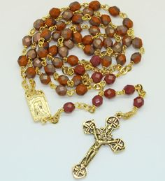 Apollo Finish Rosary  214C made by Amy.