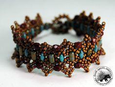 Picot de Gala Bracelet Beaded Bracelet by GQHPatternsandKits