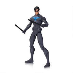 Dc Collectibles Dc Universe Animated Movies Son Of Batman Nightwing Action Figure Batman Comic Books, Batman Comics, Comic Book Heroes, Dc Comics, Batman Action Figures, Custom Action Figures, Nightwing, Batgirl, Batman Animated Movies