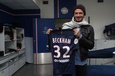 Welcome to Oghenemaga Otewu's Blog: Photos: David Beckham returns to former club, PSG