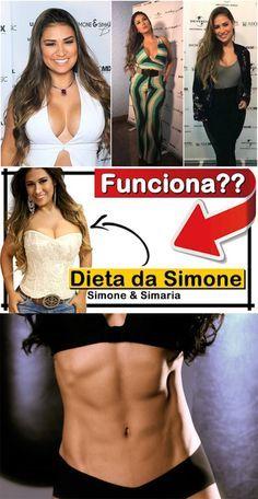 Dieta que está emagrecendo Simone é fácil e exclui só 5 coisas: coach da sertaneja explica #dieta #emagrecendo #facil #funciona