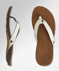 Reef Leather Sandals- so very comfy!