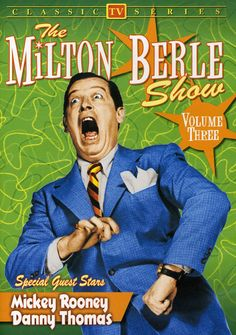 Milton Berle first charmed audiences in 1948 as the host of a comedy-variety hour called THE TEXACO STAR THEATRE. The show was a huge success in the '50s, and Berle became a major star of the new tele