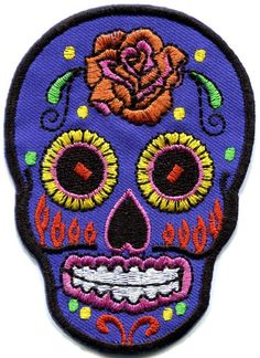 Candy Skull Patch 2