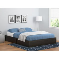 Shop for Taylor & Olive Waples Platform Twin Bed Frame. Get free delivery On EVERYTHING* Overstock - Your Online Furniture Outlet Store! Twin Platform Bed Frame, Platform Bed Base, Upholstered Platform Bed, Twin Size Bed Frame, Trundle Bed With Storage, Kids Toddler Bed, Queen Size Headboard, Queen Beds, Home Decor Furniture