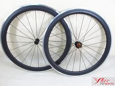 Farsports FSC50-CA ED HUB alu carbon wheels 50mm 20.5mm with alloy track surface, Aluminum braking carbon road clincher wheel 50