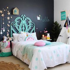 Hopefully one of my kids will sleep in their big girl bed💕 The styling of the room is dreamy!! ⭐watermelon cushion available now |link in bio|. . 📸@thefamilylovetree @fourcheekymonkeys . www.miagirlxo.com Use code NEWYEAR 20% . . . xxx 💛. #tapfortags#kidsrooms#kidsinteriors#barnrumsinspo#kidsinterior#decorforkids#decoraçãodeinteriores#kinderkamer#pocketofmyhome#abmathome#sharemystyle#childrensroom#kidsroomdecor#kidsstyle