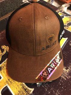 the best attitude d8914 efc33 Ariat Western Mens Hat Cap Logo. Clothing ...
