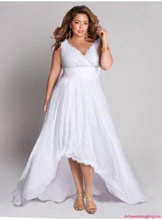 Choosing the Best Wedding Dress for a Short Plus Sized Woman (2)