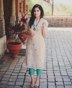 Leading Textile Wholesaler & Exporter in India-Textile mall Churidar Designs, Kurti Neck Designs, Kurta Designs Women, Kurti Designs Party Wear, Blouse Designs, Printed Kurti Designs, Dress Indian Style, Indian Outfits, Western Outfits