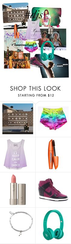 """""""#Djs"""" by mary-75 ❤ liked on Polyvore featuring beauty, COVERGIRL, TOMORROWLAND, Ilia, NIKE, ChloBo and Beats by Dr. Dre"""