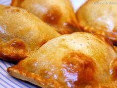 Receita Entrada : #Empanadas de #carne de MarolaCarambola