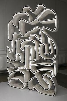 """Dubuffet Shelf"" by Vanya Polunin"