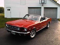 1965 Convertible Mustang...My dream car.