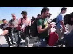 Muslim Migrants & Refugee Crisis in Greece