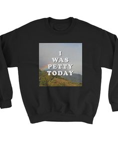 30 Products For People Who Are Basically Dead Inside I Pity The Fool, Text Animation, Dead Inside, Graphic Sweatshirt, Sweatshirts, Sweaters, How To Wear, Clothes, Badass