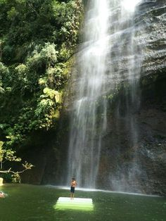 Waterfall lembah Haram,  West Sumatera, Indonesia