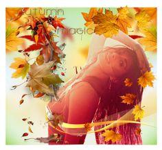 """Magic Autumn"" by jojona-1 ❤ liked on Polyvore featuring art"