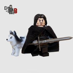 Custom Game of Thrones Jon Snow lego        Check this out>>>>>>>   http://amzn.to/29DEVry