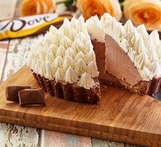 Dove® Chocolate No Bake Sweetie Pie